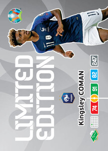 EURO 2020 LIMITED EDITION Kingsley Coman