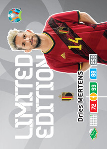 EURO 2020 LIMITED EDITION Dries Mertens