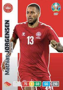 EURO 2020 TEAM MATE Mathias Jorgensen #107
