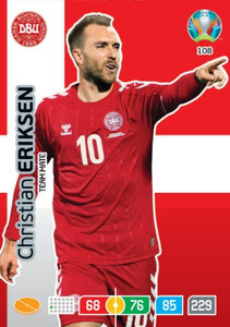EURO 2020 TEAM MATE Christian Eriksen #108