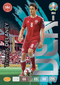 EURO 2020 FANS' FAVOURITE Thomas Delaney #114