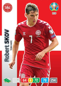 EURO 2020 TEAM MATE Robert Skov #115