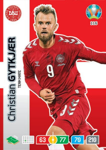 EURO 2020 TEAM MATE Christian GytkJaer #116