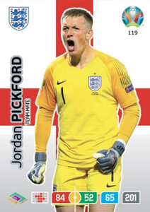 EURO 2020 TEAM MATE Jordan Pickford #119