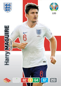 EURO 2020 TEAM MATE Harry Maguire #120