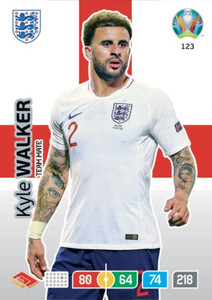 EURO 2020 TEAM MATE Kyle Walker  #123