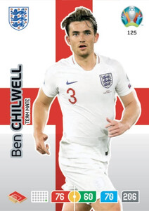 EURO 2020 TEAM MATE Ben Chilwell #125