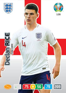 EURO 2020 TEAM MATE Declan Rice #128