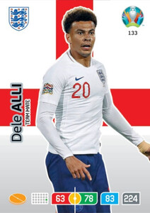 EURO 2020 TEAM MATE Dele Alli #133