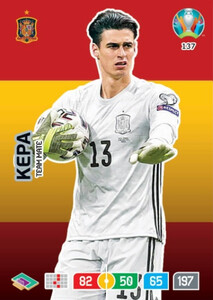 EURO 2020 TEAM MATE Kepa #137