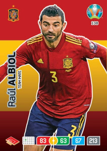 EURO 2020 TEAM MATE Raul Albiol #138