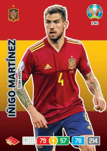 EURO 2020 TEAM MATE Inigo Martinez #140