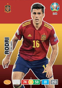 EURO 2020 TEAM MATE Rodri #144
