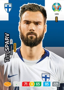 EURO 2020 FANS - CAPTAIN Tim Sparv #165