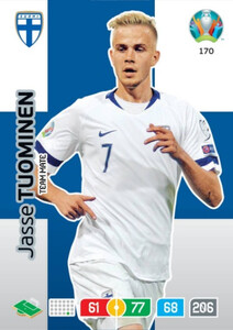 EURO 2020 TEAM MATE Jasse Tuominen #170