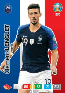 EURO 2020 TEAM MATE Clement Lenglet #174