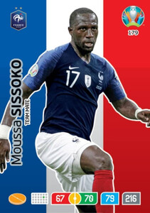 EURO 2020 TEAM MATE Moussa Sissoko #179