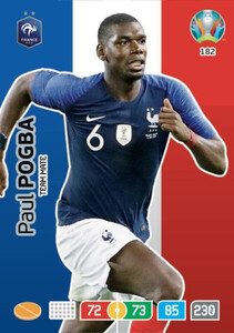 EURO 2020 TEAM MATE Paul Pogba #182
