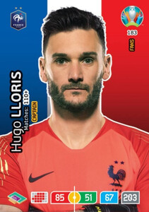 EURO 2020 FANS - CAPTAIN Hugo Lloris #183
