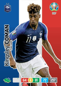EURO 2020 TEAM MATE Kingsley Coman #187