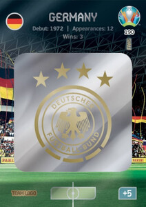 EURO 2020 TEAM LOGO Germany #190