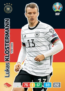 EURO 2020 TEAM MATE Lukas Klostermann #197
