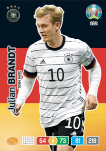 EURO 2020 TEAM MATE Julian Brandt #202