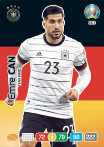 EURO 2020 TEAM MATE Emre Can #203