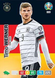 EURO 2020 TEAM MATE Timo Werner #206