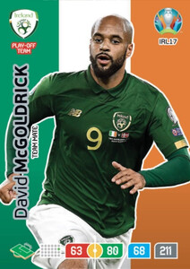 EURO 2020 TEAM MATE David McGoldrick #IRL17