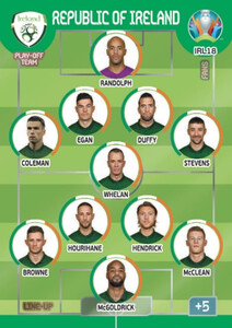 EURO 2020 LINE-UP Republic of Ireland #IRL18