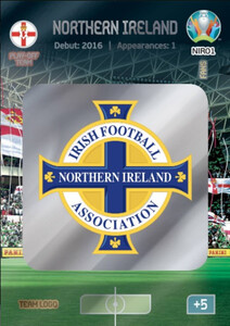 EURO 2020 TEAM LOGO Northern Ireland #NIR01