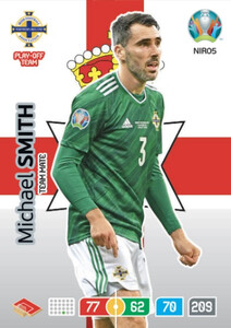 EURO 2020 TEAM MATE Michael Smith #NIR05