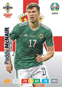EURO 2020 TEAM MATE Paddy McNair #NIR08