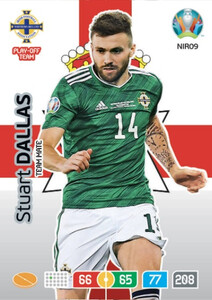 EURO 2020 TEAM MATE Stuart Dallas #NIR09