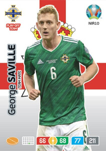 EURO 2020 TEAM MATE George Saville #NIR10