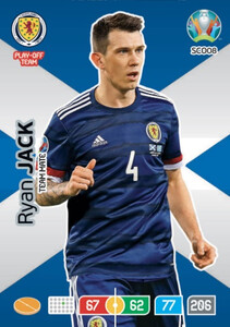 EURO 2020 TEAM MATE Ryan Jack #SCO08