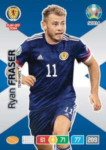 EURO 2020 TEAM MATE Ryan Fraser #SCO14