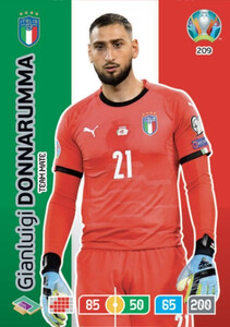 EURO 2020 TEAM MATE Gianluigi Donnarumma #209