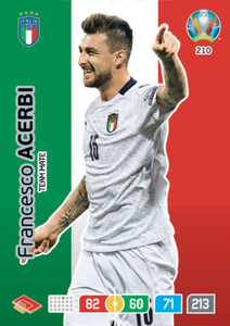 EURO 2020 TEAM MATE Francesco Acerbi #210