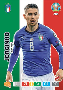 EURO 2020 TEAM MATE Jorginho #216