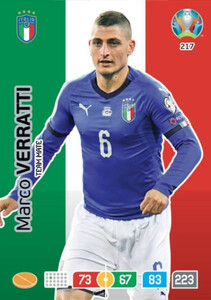EURO 2020 TEAM MATE Marco Verratti #217