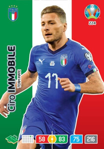 EURO 2020 TEAM MATE Ciro Immobile #224