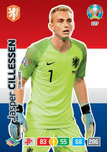 EURO 2020 TEAM MATE Jasper Cillessen #227