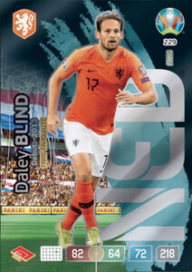 EURO 2020 FANS' FAVOURITE Daley Blind #229