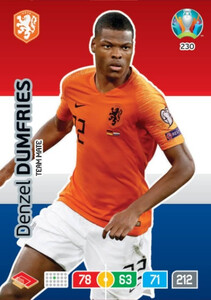 EURO 2020 TEAM MATE Denzel Dumfries #230