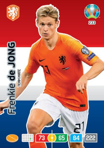 EURO 2020 TEAM MATE Frenkie de Jong #233