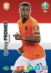 EURO 2020 TEAM MATE Quincy Promes #241
