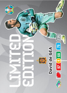 EURO 2020 LIMITED EDITION David De Gea