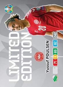 EURO 2020 LIMITED EDITION Yussuf Poulsen